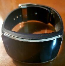 Samsung Galaxy Gear S SM-R750 Curved Smart Watch Black AT&T