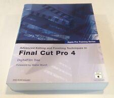 Final Cut Pro 4 Advanced Editing & Finishing Techniques. Apple Training Series