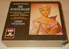 R. STRAUSS-DER ROSENKAVALIER-1ST ISSUE 3xCD 1987-KARAJAN-SCHWARZKOPF-LUDWIG