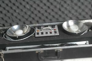 Novatron 240 Power Pack Kit with 2 Heads 1 Stand  2 Umbrellas, Studio Light Kit