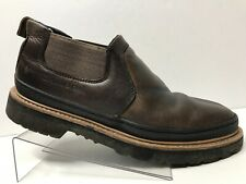 CHINOOK Workhorse Romeo Shoes Mens 11 Leather Camp Boots Hiking Slip On Shoes