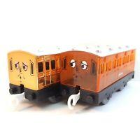 Golden Annie & Translucent Carriages Thomas Locomotive Trackmaster TOMY Rare