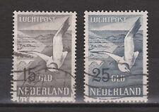 Luchtpost 12-13 used NVPH Nederland Netherlands Niederlande airmail
