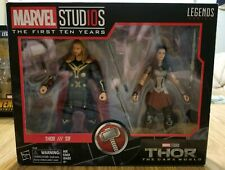 Marvel Legends FIRST TEN YEARS THOR & SIF 2-Pack *NEW*