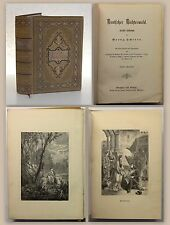 Scherer Deutscher Dichterwald Lyrische Anthologie 1881 Gedichte Klassiker xz