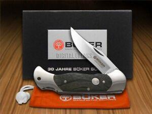 Boker Tree Brand 30th Ann. Bog Oak Scout ###3 Lockback 1/300 Pocket Knife