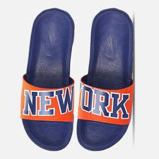 NIKE BENASSI NBA SLIDERS UK 6 EU 40 SOLAR SOFT NEW YORK KNICKS 917551-800
