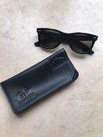 RAY BAN | Vintage 1980's B&L Wayfarer Marlboro BL5022 Sunglasses & Case
