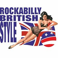 ROCKABILLY BRITISH STYLE MUSIC T SHIRTS T-SHIRTS TOPS UK BLUES BAND ROCK & ROLL