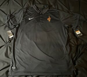 Nike Cleveland Cavaliers 2020 Coaches Polo NBA Issued 2XLT NEW LEBRON JAMES