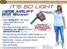 Atom blower, Airlift 855, 4 Stroke Honda Engine(Sydney Roller Mower Centre)