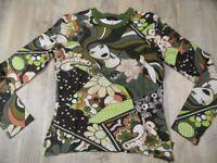 PJE PAMPOLINA schönes Langarmshirt Hippie Style Gr. 164 NEU ST118