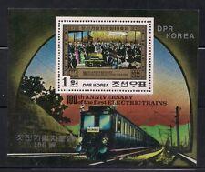 Korea.. 1980  Sc # 2006  Locomotive  s/s   MNH   (3-638/1)