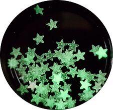 Ca.50 nachtleuchtende mini Sterne ca.2mm groß. Im Tütchen.