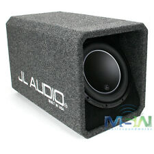 "NEW JL AUDIO HO110-W6v3 10"" 10W6v3 LOADED HIGH OUTPUT H.O. PORTED SUBWOOFER BOX"