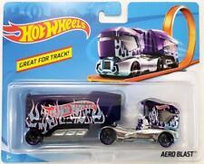 Hot Wheels Track Stars Semi & Trailer - Aero Blast