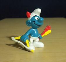 Smurfs Archer Bow & Arrow Smurf Archery Figure Vintage PVC Toy Figurine 20102