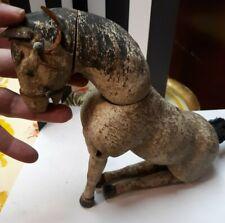 OLD VINTAGE ANTIQUE RARE SCHOENHUT WOODEN PLAYSET CIRCUS LG HORSE  ANIMAL TOY