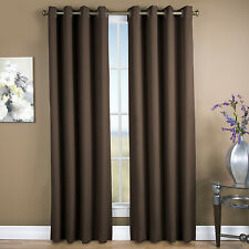 Ultimate Black-Out Grommet Blackout Single Curtain Panel