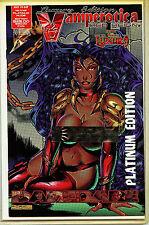 Vamperotica #1 Luxury Edition Platnium Variant nm+ Brainstorm Comics 1995 H7-1
