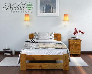 Solid Pine 3ft Single Bed Frame & Slats Brand New **Wooden Furniture**
