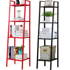 4 Tier Ladder Book Bookcase Organiser Storage Shelf Unit Corner Display Stand