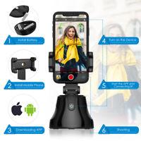 Selfie Stick 360° Auto Tracking Smart Shooting Smartphone Holder Vlog Camera NEW