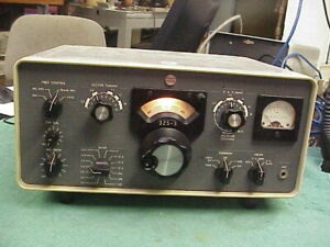 COLLINS RADIO 32S-3 Transmitter Round Emblem  With original Manual Very Nice.