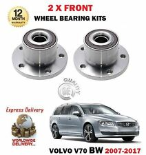 FOR VOLVO V70 T4 T5 T6 2.0T 2.5T 3.2 2007-2017 2 X FRONT AXLE WHEEL BEARING KITS