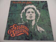 "GILBERT O' SULLIVAN. I'M A WRITER, NOT A FIGHTER. 12"" 33rpm LP Record. 1973 . Po"