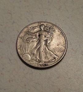 1944 Walking Liberty Half Dollar, 90% Silver