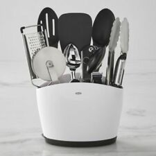 OXO Good 1129400 Grips Kitchen Essentials Stainless Steel Utensil Cook 10 Piece