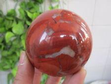 461g RARE NATURAL Red Snakeskin Jasper Sphere Crystal Ball