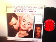 MARILYN MONROE LP - Let's Make Love / RARE MONO 6 EYE