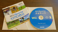 Wii Sports Nintendo 2006 Instruction Manual Bowling Tennis Baseball Golf  Boxing