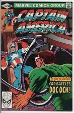 Marvel Comics Captain America #259 VF July 1981  Doctor Octopus!