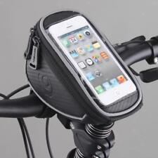 Bike Cycling Bicycle Front Frame Tube Bag Handlebar Phone Holder Quick Release
