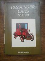 T.R. Nicholson: Passenger Cars 1863-1904/ Blandford Press, 1970