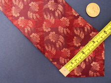 Men's Ungaro Red Silk Tie Made in Italy A23696