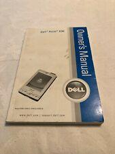 Dell Axim X30 Manual