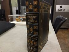 ROOSEVELT AND CHURCHILL JOSEPH P. LASH FIRST EDITION THE FRANKLIN LIBRARY 1976