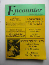 Encounter February 1970 vol 34 no. 2 Berkeley student movement / Naked Africa