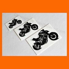 3x Aufkleber Sticker Dekor Motorrad Biker Auto KTM SuperDuke SD 1290 Superbike