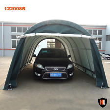 Hardlife Carport Tents - 12 x 20 x 8 ft. - Strong PVC Fabric and Steel Frame