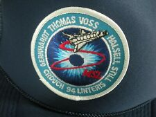 1997 COLUMBIA SPACE SHUTTLE STS-94 VINTAGE NASA MISSION BASEBALL CAP HAT BLUE