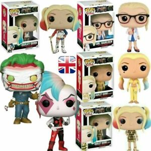 UK FUNKO POP Harley Quinn Suicide Squad Movie Vinyl Action Figure Toy Boxed Gift
