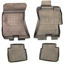 GENUINE SUBARU RUBBER FLOOR MATS DISHED (OUTBACK & LIBERTY MY04 - MY09) SAVE $25
