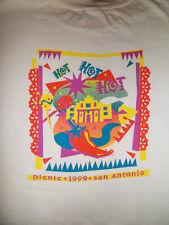 "Vintage kinko's ""PICNIC"" 1999 T-Shirt Size XL 48"" San Antonio HOT! HOT! HOT!"