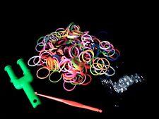 Colourful Loom Bands, S - Clips, Hook, Mini Slingshot Loom