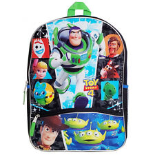 "Toy Story 4 16"" Backpack School Bag, Blue"